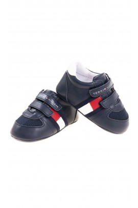 Navy blue baby Velcro sneakers Tommy Hilfiger