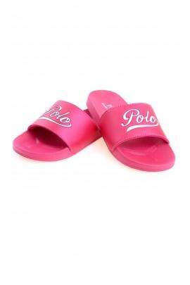 Pink slides for girls, Polo Ralph Lauren