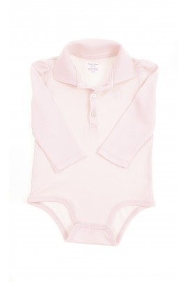Elegant pink body with polo collar, Ralph Lauren