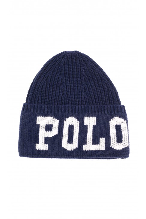 Warm navy blue beanie, Polo Ralph Lauren
