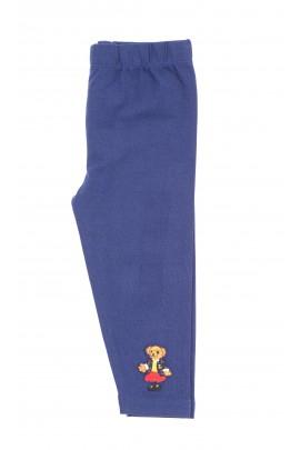 Navy blue leggings for girls, Ralph Lauren