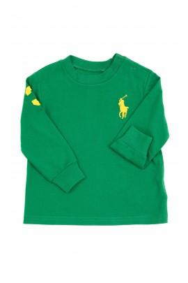 Dark green long-sleeved shirt, Ralph Lauren