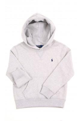 Grey hoodie, Polo Ralph Lauren