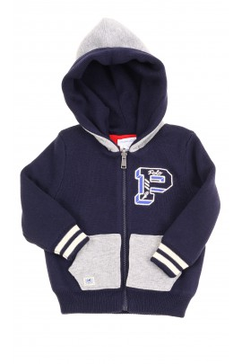Two-sided baby warm sweater with a hood, Ralph Lauren