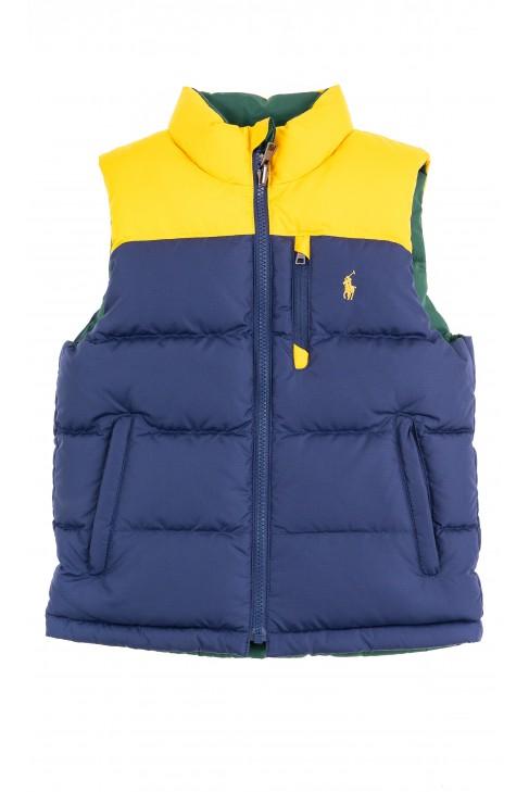 Reversible sleeveless vest for boys, Polo Ralph Lauren