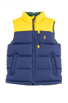 Reversible sleeveless vest for boys, Polo Ralph Lauren