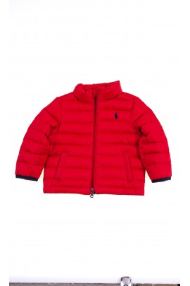 Red insulated jacket for babies, Ralph Lauren