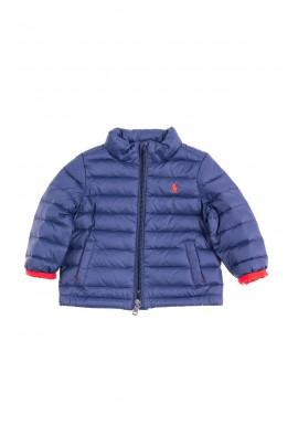 Navy blue insulated jacket for babies, Ralph Lauren