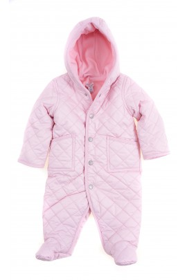 Lightpink quilted barn bunting for babies, Ralph Lauren