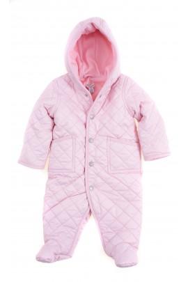 Lightpink quilted barn bunting for babies, Ralph Lauren