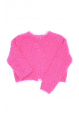 Pink fur bolero for girls, ELSY