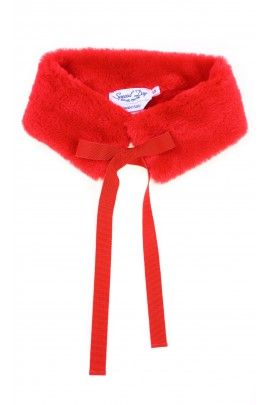 Red fur collar, Special Day