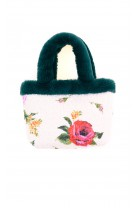 Girls purse in colourful roses, Special Day