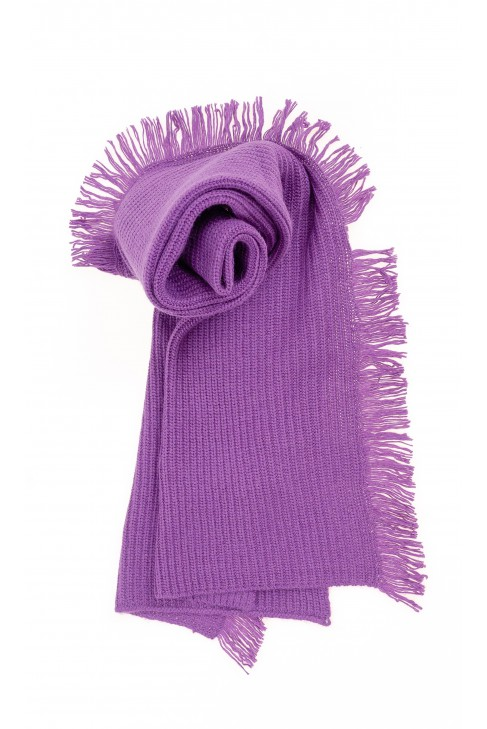 Purple scarf for girls, ELSY