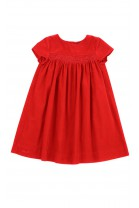 Red corduroy dress with short sleeves, Polo Ralph Lauren