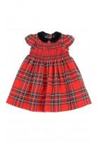 Red plaid baby dress, Ralph Lauren