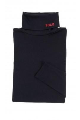 Black cotton turtleneck, Polo Ralph Lauren