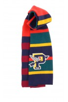Colourful shawl with cross stripes, Polo Ralph Lauren
