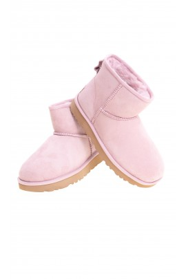 Pale pink mini boots, UGG