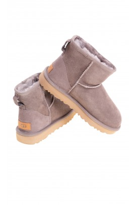 Light brown mini boots, UGG
