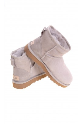 Light beige mini boots, UGG