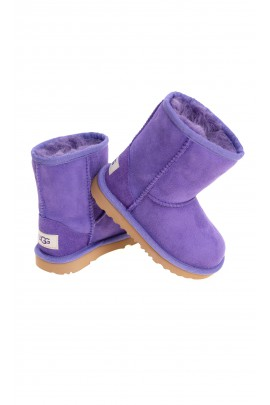 Violet half-calf boots, UGG