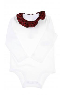 Long-sleeved white body for girls, Ralph Lauren