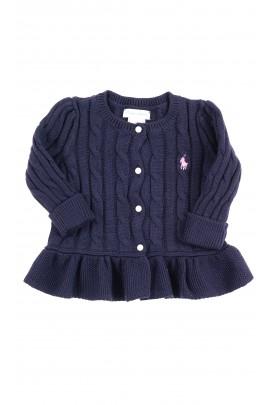 Dark blue plait sweater, Ralph Lauren