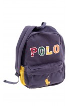 Navy blue one chamber backpack, Polo Ralph Lauren