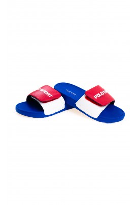 Red sandals for boys, Polo Ralph Lauren