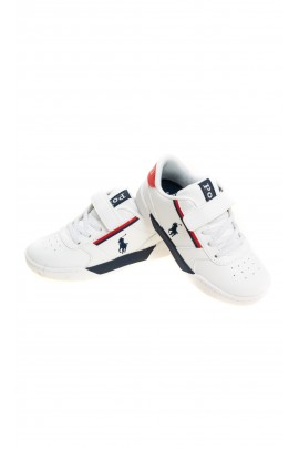 White sports shoes, Polo Ralph Lauren