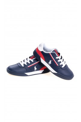 Elegant navy blue sports shoes, Polo Ralph Lauren