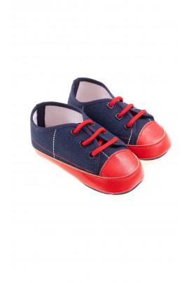 Navy blue baby shoes, Colorichiari