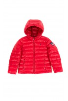 Red transitional down jacket, Polo Ralph Lauren
