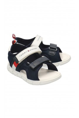 Dark blue sports sandals for boys, Tommy Hilfiger