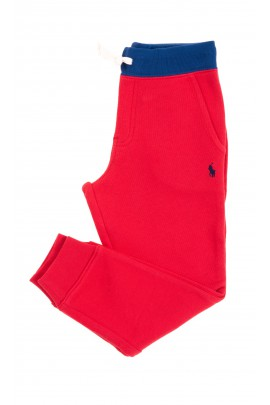 Red sweatpants for kids, Polo Ralph Lauren