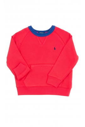 Red sweatshirt for kids, Polo Ralph Lauren