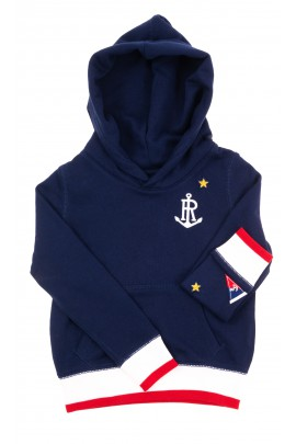 Dark blue hoodie for girls, Polo Ralph Lauren