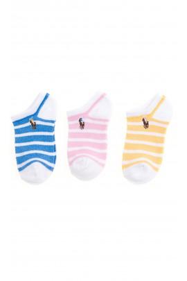 Striped socks for girls, Polo Ralph Lauren