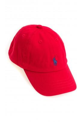 Red baseball cap, Polo Ralph Lauren