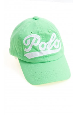 Light green baseball cap with a POLO inscription, Polo Ralph Lauren
