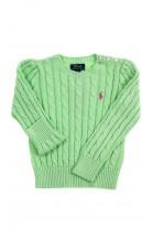 Celadon plait sweater for girls, Polo Ralph Lauren