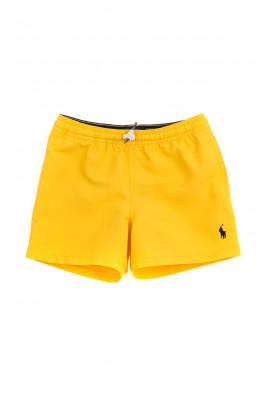 Yellow swimming shorts for boys, Polo Ralph Lauren