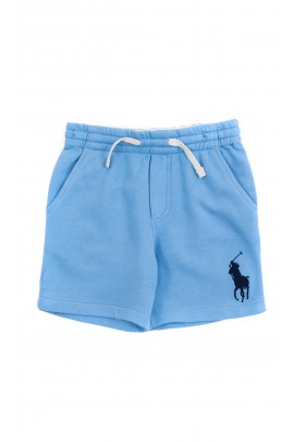Blue sports shorts for boys, Polo Ralph Lauren