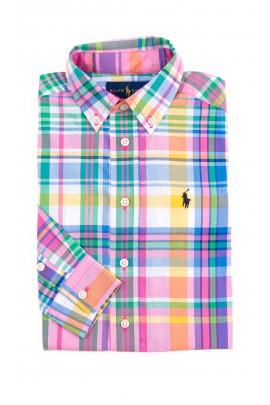 Colourful checked shirt for boys, Polo Ralph Lauren