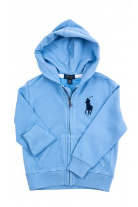 Light blue hoodie, Polo Ralph Lauren