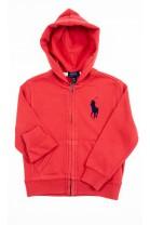 Red hoodie, Polo Ralph Lauren