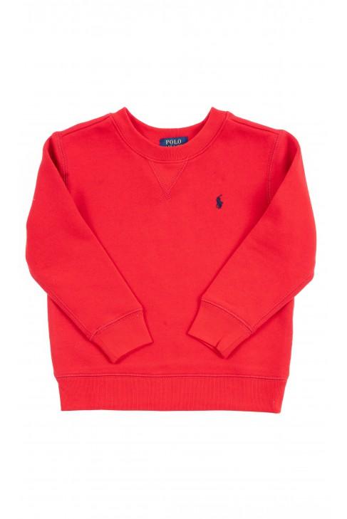 Red sweatshirt, Polo Ralph Lauren