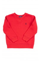 Red sweatshirt, Polo Ralph Lauren