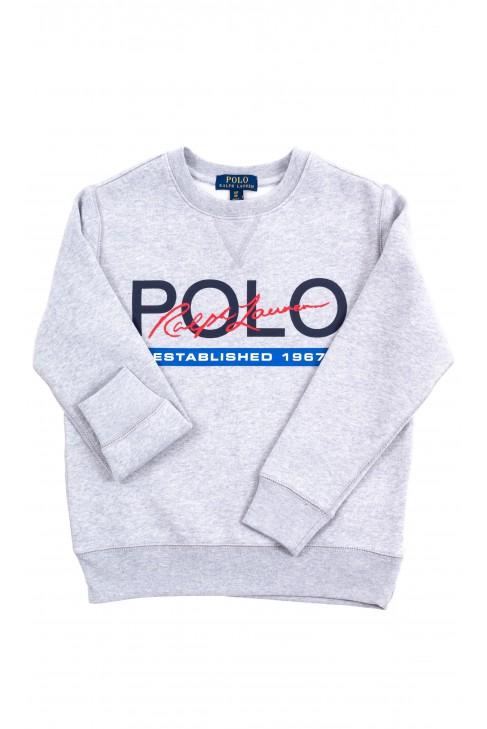 Grey pullover sweatshirt Polo Ralph Lauren